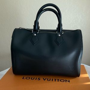 Louis Vuitton Speedy 25 Epi Leather